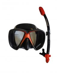 Metal X Dive Mask & Snorkel