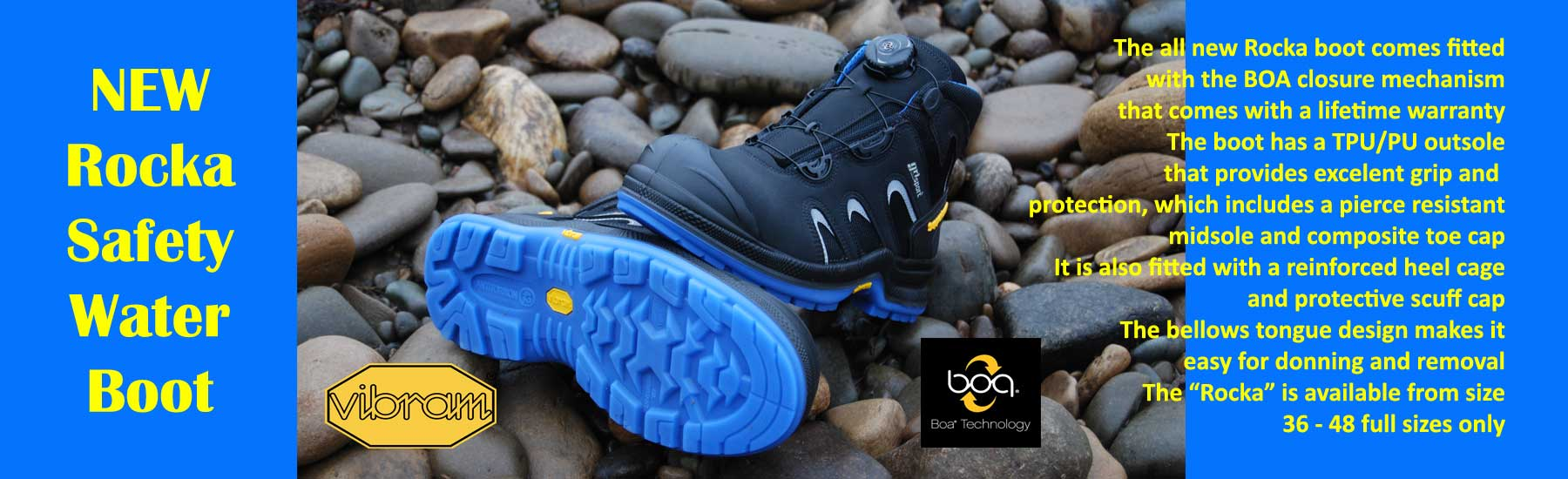 Rocka Safety Water Boot